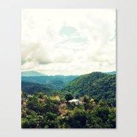 jamaica Canvas Prints featuring Jamaica  by Matthew Ingraham
