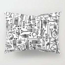 Horns B&W II Pillow Sham