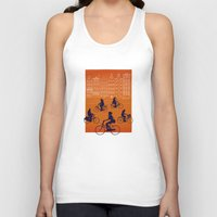 amsterdam Tank Tops featuring Amsterdam by Ben Whittington