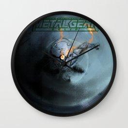 Grey Fox Wall Clock