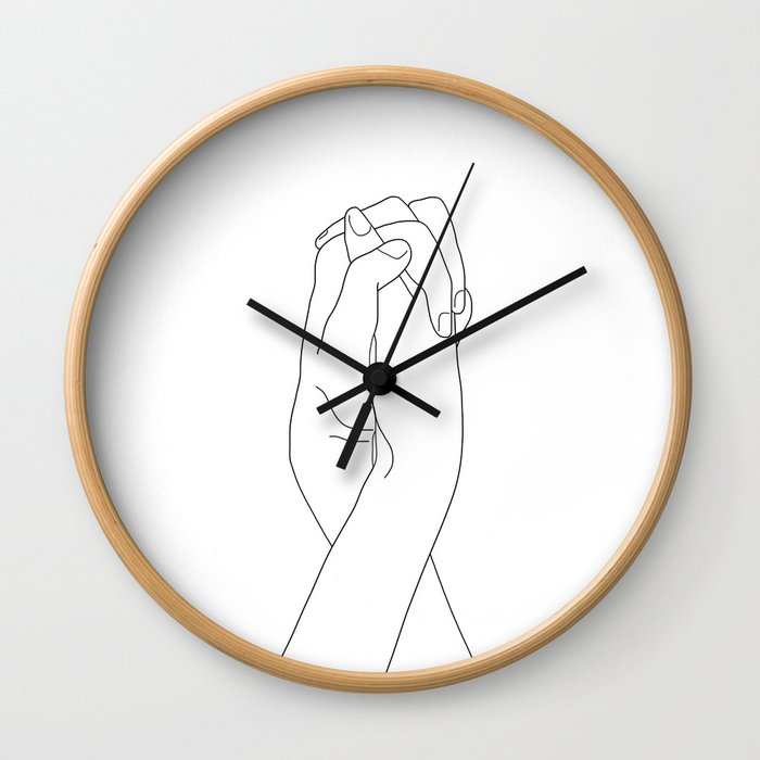 Never Let Me Go II Wall Clock
