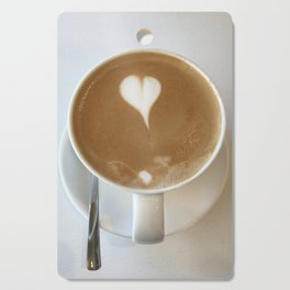 Hot Coffee Love Cutting Board
