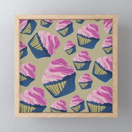 cupcake Framed Mini Art Print