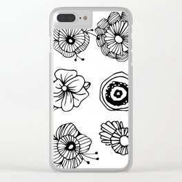 Never hurt no one Clear iPhone Case