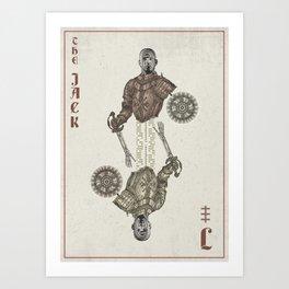 the jack Art Print