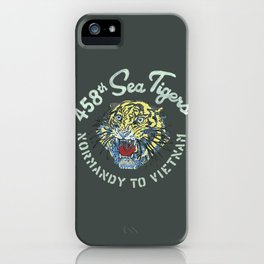 458th Sea Tigers iPhone Case