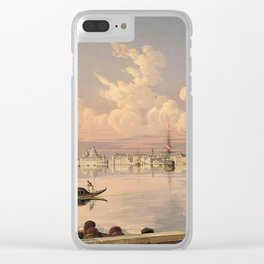 Robert Salmon - View Of Venice. Clear iPhone Case