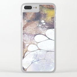 Fossils 45 Clear iPhone Case