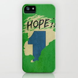Hope!! (time machine ) iPhone Case