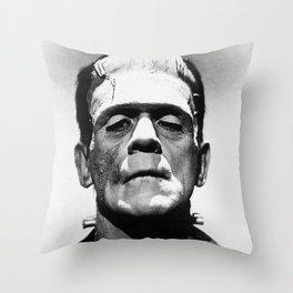 Frankenstien | Franky | Horror movies | Munsters | Gothic Aesthetics Throw Pillow