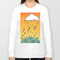 cloud Long Sleeve T-shirts featuring Cloud by R.E.L