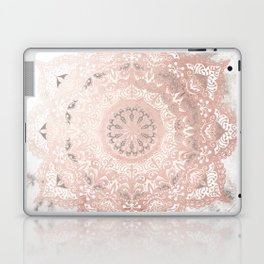 Dreamer Mandal Rose Gold Laptop & iPad Skin