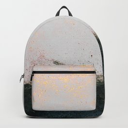 abstract smoke wall painting Backpack