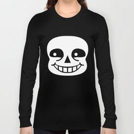 Sans Skull Long Sleeve T-shirt