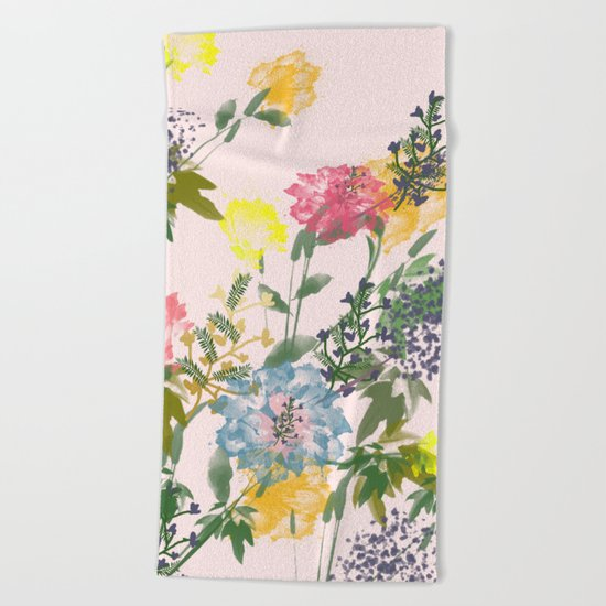 Vivacious #society6 #decor #buyart Beach Towel