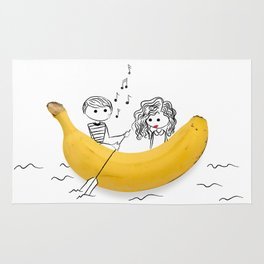 Banana Love Rug