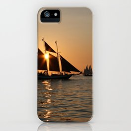 Sails and Sunsets iPhone Case