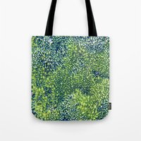 moss Tote Bags featuring Moss by Scarlet
