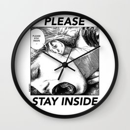 asc 952 - Les intimes #3 (Please stay inside #3) Wall Clock