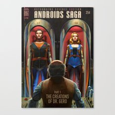 Androids Saga - The Creations of Dr Gero Canvas Print