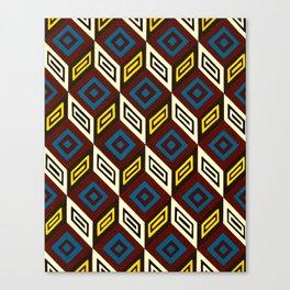 Necker Cubes Canvas Print