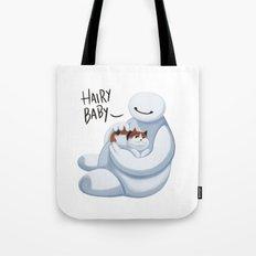 Big Hero -Hairy Baby v2 Tote Bag