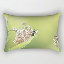 Blooming in the Morning Rectangular Pillow