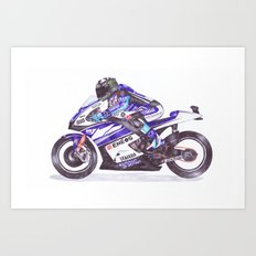 Ballpoint Pen, 11, Ben Spies Art Print
