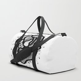 Abstract Pattern-filled Rose Duffle Bag