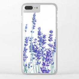 Fresh Lavender #3 #decor #art #society6 Clear iPhone Case