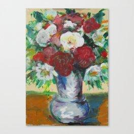 Cezanne meets Interflora Canvas Print