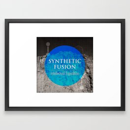 Synthetic Fusion Framed Art Print