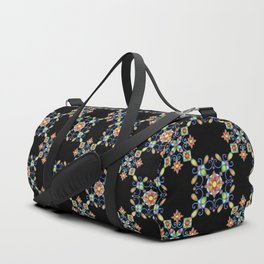 Ornamental Filigree Duffle Bag