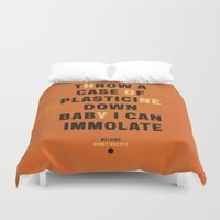 lyrics Duvet Covers featuring Honey - Melivns lyrics. by Joe Young
