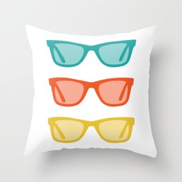 Ray Ban Frames Sunglasses Throw Pillow