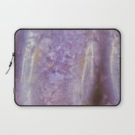 Lady slipper seashell mother of pearl Laptop Sleeve