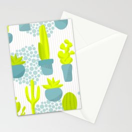 Arizona Cacti Stationery Cards