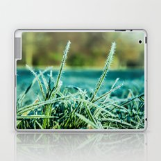 on a cold and sunny morning Laptop & iPad Skin