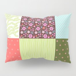 Patchwork 2 Pillow Sham
