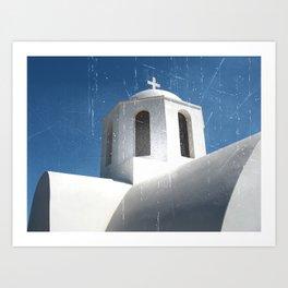Greek Building  Art Print