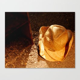 Cowboy City Canvas Print
