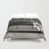 astronaut Duvet Covers featuring Astronaut by eARTh