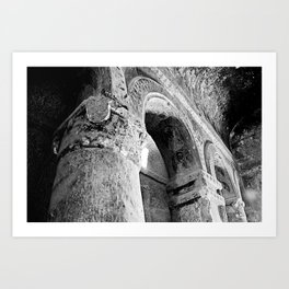 Turkish Arch B&W Art Print