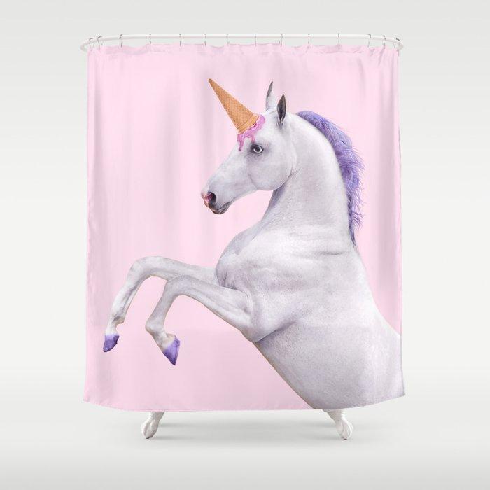 UNICORN Shower Curtain By Paulfuentes