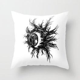 Beholder Throw Pillow