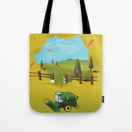 Romania Map Tote Bag