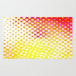 Yellow Pink Pattern Design Rug