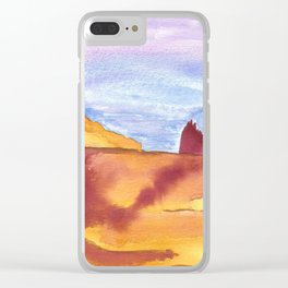 skyscapes 16 Clear iPhone Case