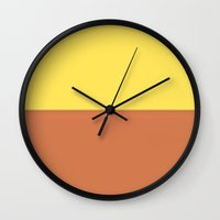 sand Wall Clocks featuring Sand by TheseRmyDesigns