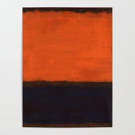 Rothko Inspired #18 Poster